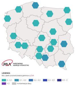 Sytuacja radiacyjna Polski - Portal PAA